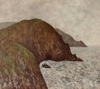 Cliffs at Stoke Fleming I 24 x 28 | 1987
