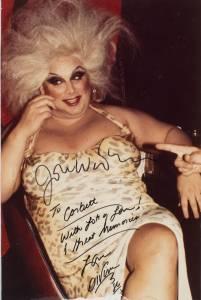 Divine Autographed Photo