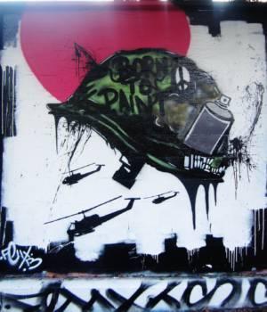 Full Metal Jacket - Artist Unknown - Los Angeles, USA