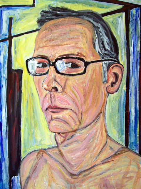 forrest_self_portrait_3_acrylic_on_canvas_36x24_2013_w