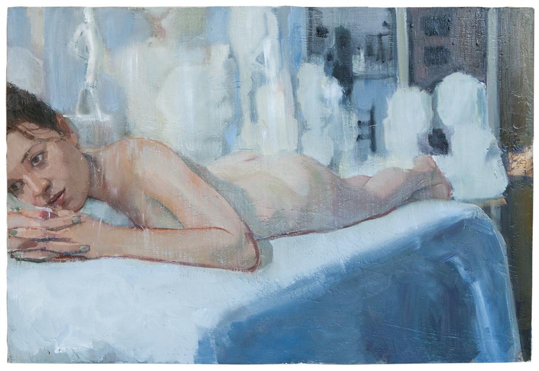 Harriet |oil on plaster | 85×59 cm | 2014