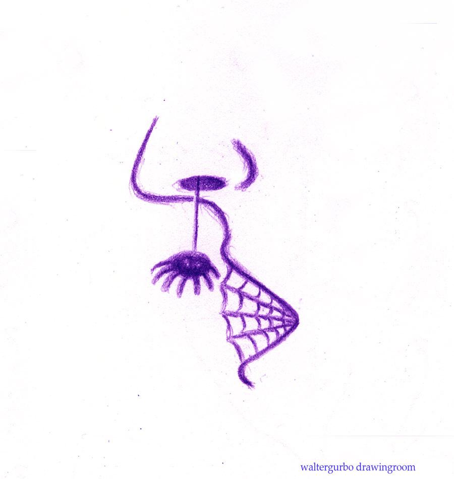 spidernosePURPLEwebmouth