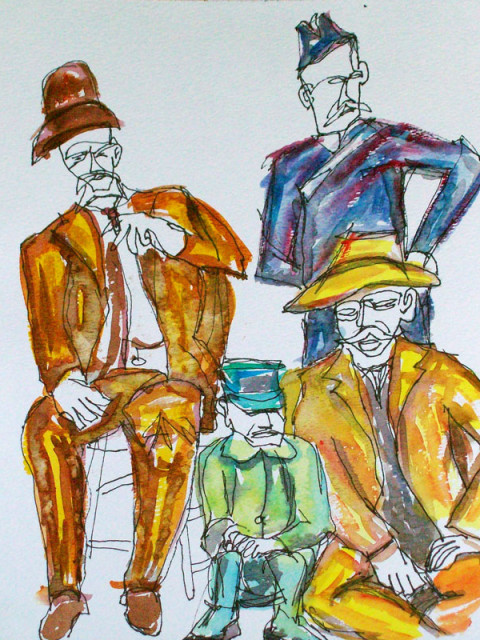 forrest_the_onlookers_ink_and_watercolor_on_paper_15x11_w
