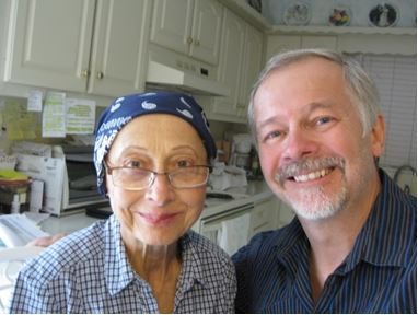 (Former Sister) Helen Marie and Ragazine contributing editor, John Smelcer