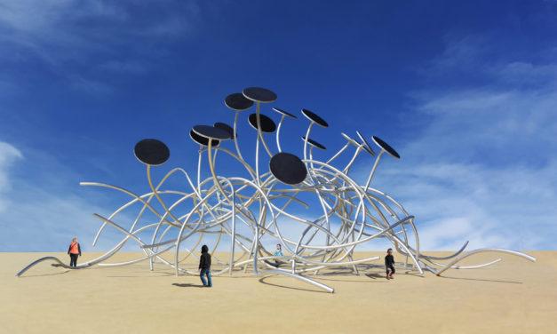 Michael Jantzen's Energetic Art