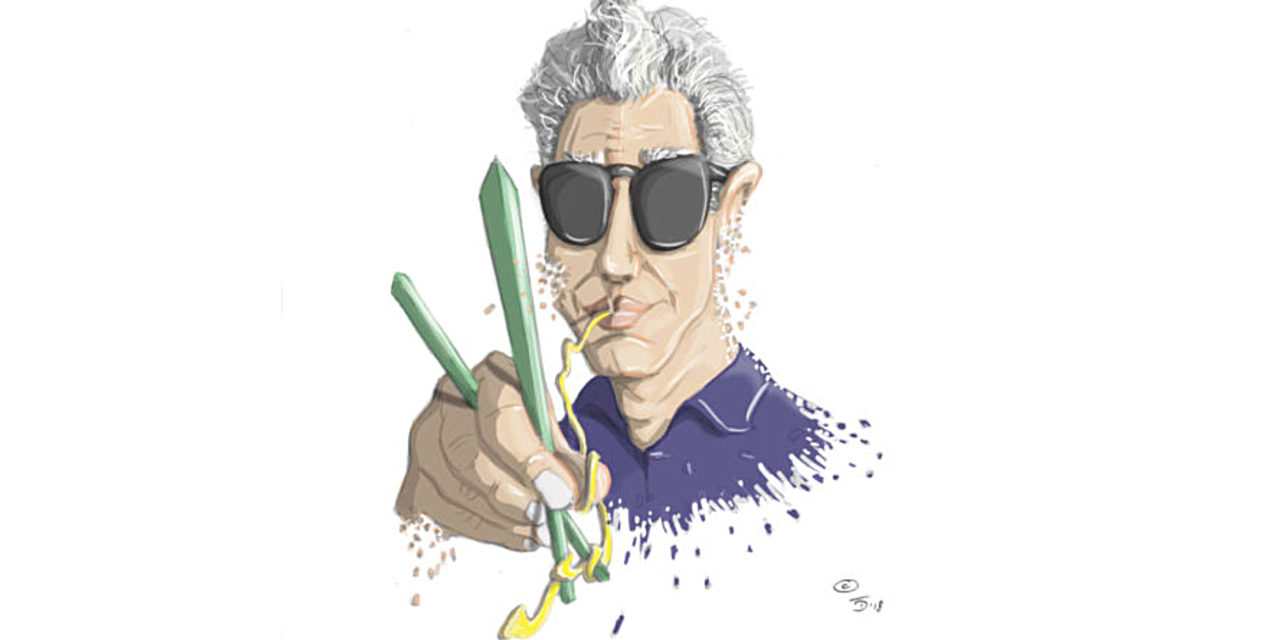 Braised Bourdain/by Jim Palombo